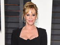 Melanie Griffith at the Vanity Fair Oscars party