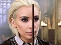 Harry Potter star shares fun picture of Kim Kardashian West's head on Draco's body.