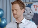 Neil Patrick Harris gets so angry, steam comes out of his ears.