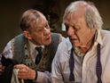 Ian McKellen & Anthony Hopkins in The Dresser