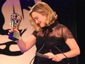 Ashley Johnson picked up the Best Performer award for her role in The Last of Us: Left Behind.