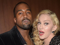 Caption:LOS ANGELES, CA - FEBRUARY 08: Kanye West and Madonna attend the 57th Annual GRAMMY Awards - Backstage at The Staples Center on February 8, 2015 in Los Angeles, California. (Photo by Jason Kempin/WireImage)
