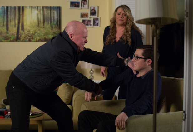 Phil storms home to confront Ben