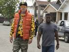 Get Hard stars Will Ferrell and Kevin Hart test their knowledge on each other.