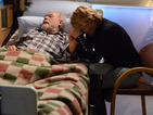 Stan dies with Shirley by his bedside.
