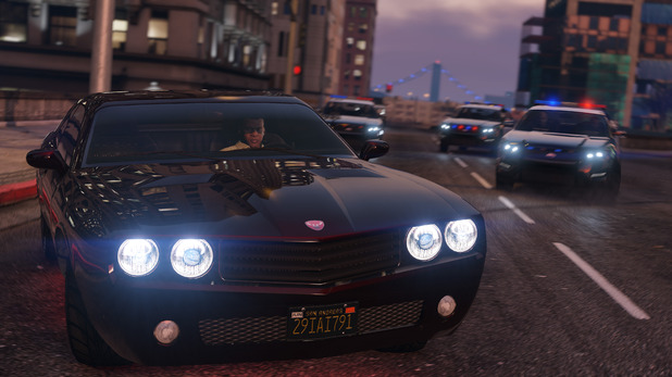 GTA 5 on PC 4K screenshot
