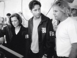 David Duchovny, Gillian Anderson and Chris Carter on X-Files