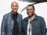 Key & Peele pose for a portrait at AOL Studios