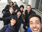 Zachary Levi tweets Heroes Reborn cast photo