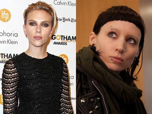 The Girl with the Dragon Tattoo: Scarlett Johansson/Rooney Mara