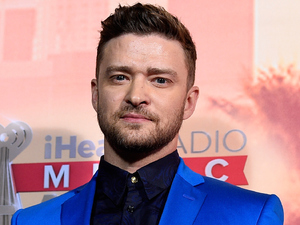 Justin Timberlake at the 2015 iHeartRadio Music Awards