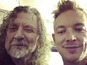Diplo collaborating with Robert Plant