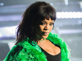 Rihanna performs onstage at the iHeartRadio Music Awards