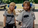 Zach Galifianakis and Kristen Wiig are bumbling robbers in new comedy Masterminds.