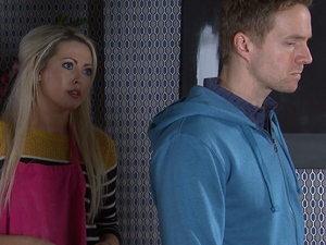 Ed is left furious with Sioned