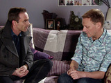 As Sean comforts Billy, he confesses to Sean that he's falling in love with him.