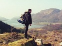 RoboCop actor hitchhikes in the Highlands to promote Idlewild's new single 'Every Little Means Trust'.