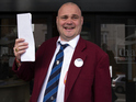 The comedian is standing against Nigel Farage in the constituency of South Thanet.