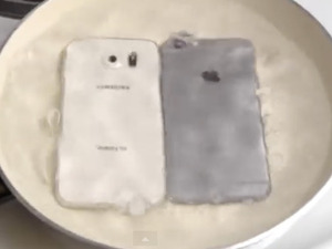 Samsung Galaxy S6 and iPhone 6 take the boiling water test