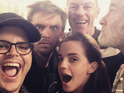 Josh Gad, Emma Watson, Luke Evans, Kevin Kline and Dan Stevens get together for latest Disney remake.