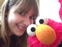 Elmo takes a trip to London and gives us life tips, gossip and a selfie.