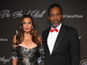 Tina Knowles marries actor Richard Lawson in ceremony attended by her daughters.