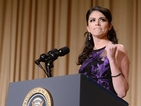 Cecily Strong jokes about Hillary Clinton's presidential campaign at White House dinner