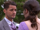 Hollyoaks spoiler pictures: Ziggy Roscoe faces wedding day dilemma