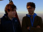 "Richard Ayoade full of hot air in Travel Man clip: ""Wind will govern us"""
