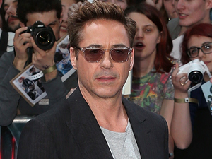 Robert Downey Jr attends the European premiere of 'The Avengers: Age Of Ultron'