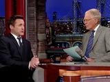 First Look at Robert Downey Jr.'s Baby Girl - David Letterman