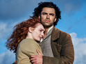 Aidan Turner's period drama added 400,000 viewers for its final episode at 9pm.