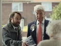 Jeremy Paxman and David Mitchell try to entice viewers in C4's promo.