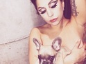 The singer introduces her second French bulldog pet to fans on Instagram.