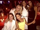 Eva Longoria becomes an honorary Spice Girl while celebrating David Beckham's birthday