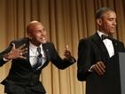 Barack Obama brings anger translator Luther on stage for White House dinner speech