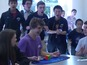 Crowd goes wild for new Rubik's Cube record