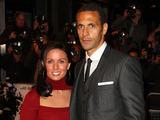 Rio Ferdinand and wife Rebecca Ellison