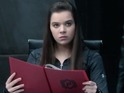 Hailee Steinfeld is on a race against time to stop an arms deal – and finish her homework.