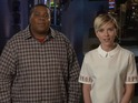 Scarlett Johansson arouses SNL cast member Kenan Thompson in the latest promo.