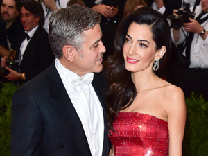 Caption:NEW YORK, NY - MAY 04: Amal Clooney and George Clooney attend the 'China: Through The Looking Glass' Costume Institute Benefit Gala at Metropolitan Museum of Art on May 4, 2015 in New York City. (Photo by George Pimentel/WireImage)