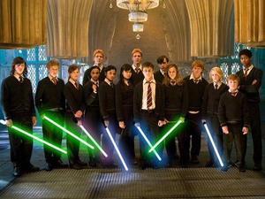 Harry Potter/Star Wars Day mash-up