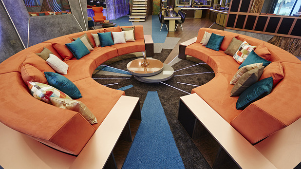 Meet the big brother timebomb housemates two days before for Living room channel 9