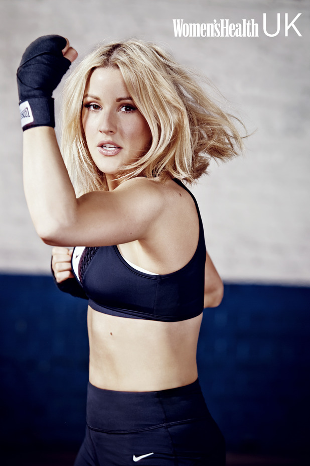 Ellie Goulding in Women's Health