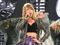 Taylor Swift grabbed on stage by male fan