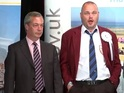 Watch the Pub Landlord's reaction as UKIP leader fails to win South Thanet seat.