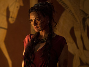 Sarah Parish as Pasiphae in Atlantis S02E12