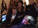 David and Victoria Beckham share images as they spend time with Professor Stephen Hawking.