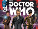 Titan Comics unites the Tenth, Eleventh and Twelfth Doctors in its Doctor Who line.