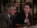 Anne Hathaway finds someone to rely on in the shape of De Niro's ageing intern.